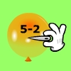 Pincha globos - Resta