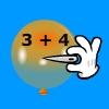 Pincha globos - Suma