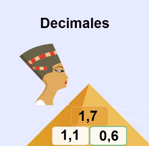 Pirámide decimales