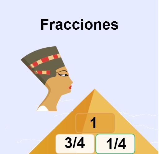 Pirámide fracciones