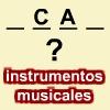 Palabra Secreta. Instrumentos Musicales